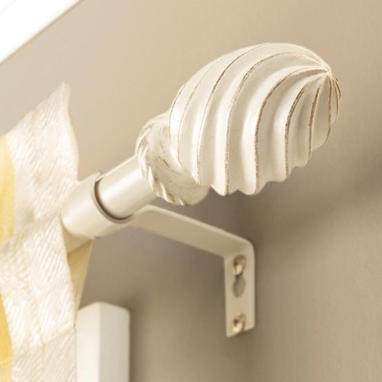 Better Homes And Gardens 5 8 Cream Swirl Curtain Rod 28 48 Or 48 84 Walmart Com In 2020 Better Homes And Gardens Curtain Rods Home