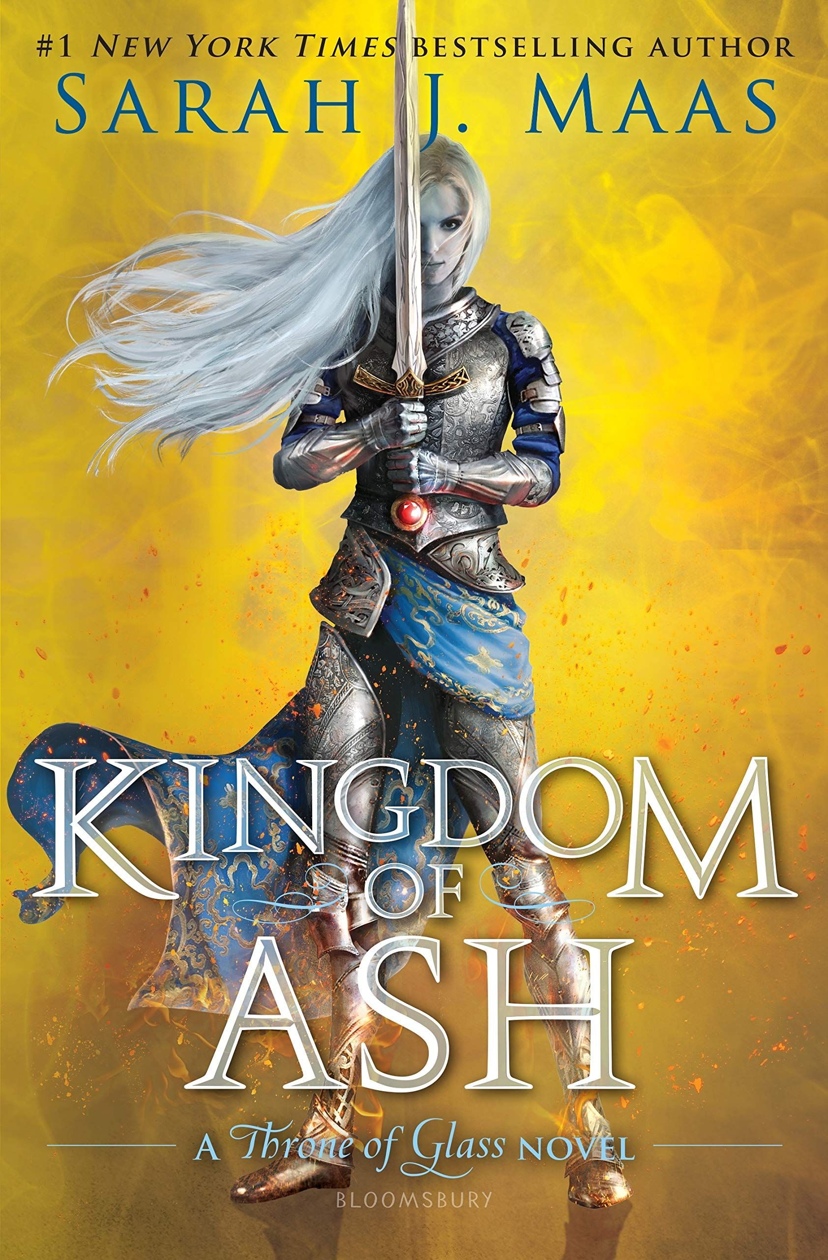 Pdf Free Download Kingdom Of Ash Throne Of Glass 7 By Sarah J
