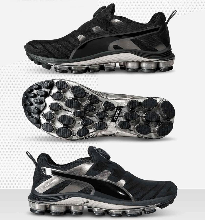 Zapatillas Puma Voltage Disc Black, Tenis de moda para Hombres. Coleccion de los Catalogos