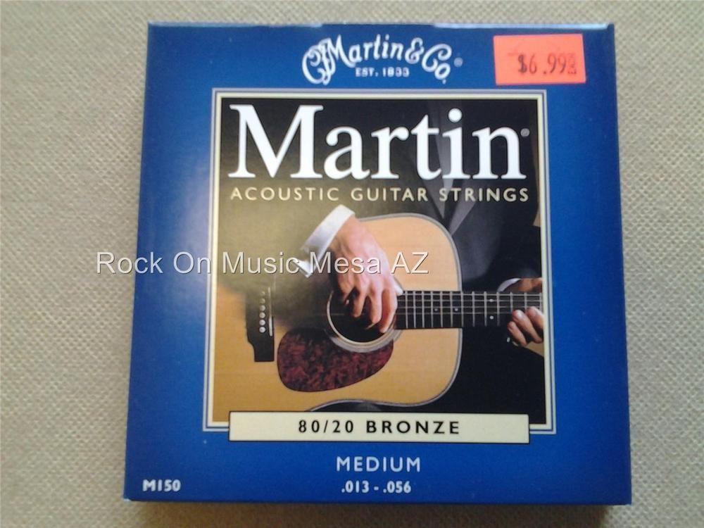 Martin Co M 150 80 20 Bronze Medium Acoustic Guitar Strings 13 56 Guitar Acoustic Guitar Strings Guitar Strings