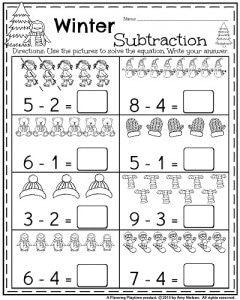 January Kindergarten Worksheets | Kindergarten worksheets ...