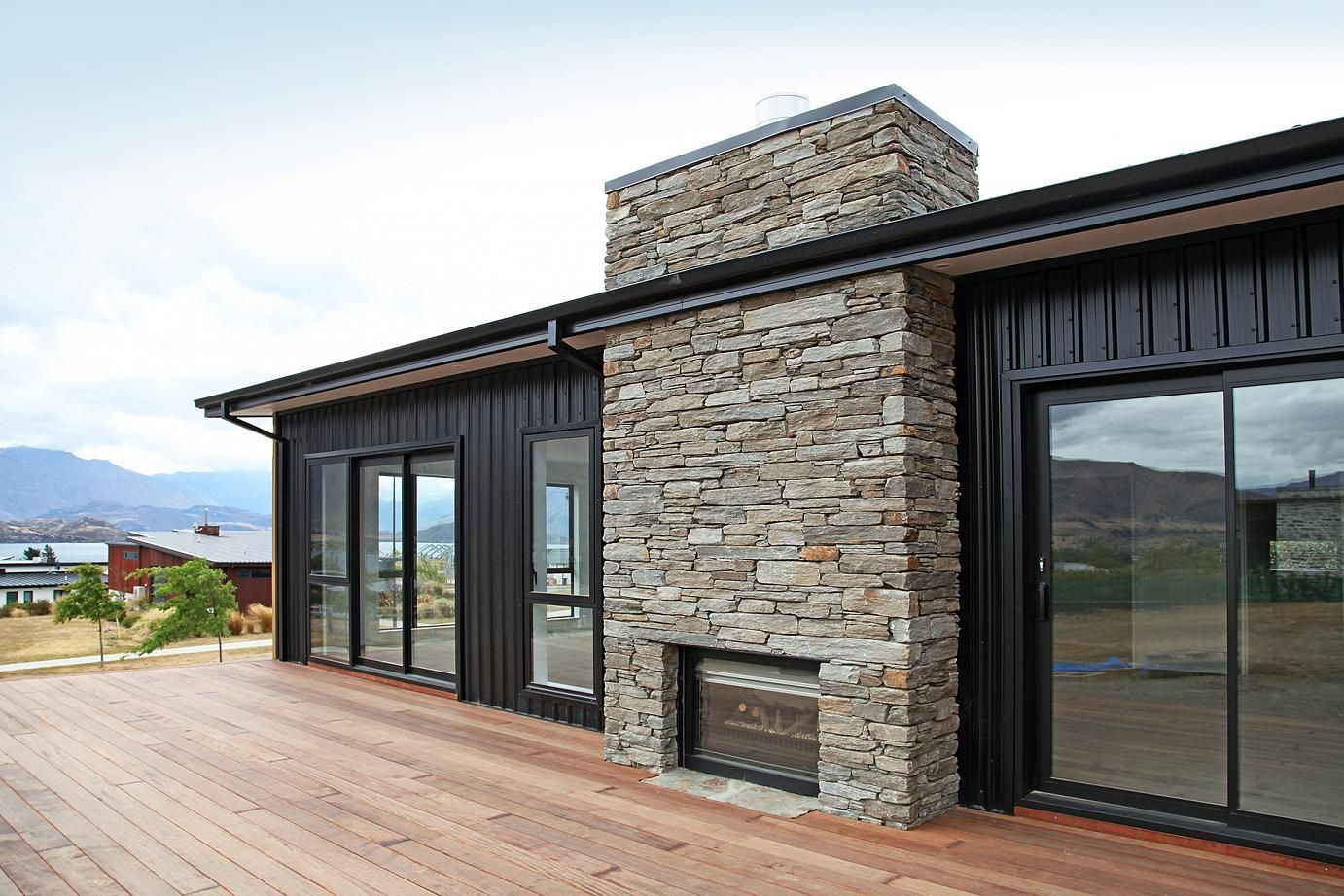 Sumner schist veneer panels the largest selection of nz for Home exterior options