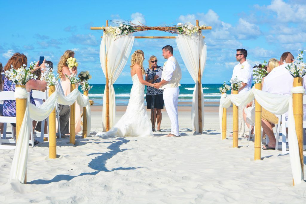 Natural Beach Weddings In Florida With A Branch Canopy Topper D Aisle Way Fl Arrangements Deluxe White Chairore