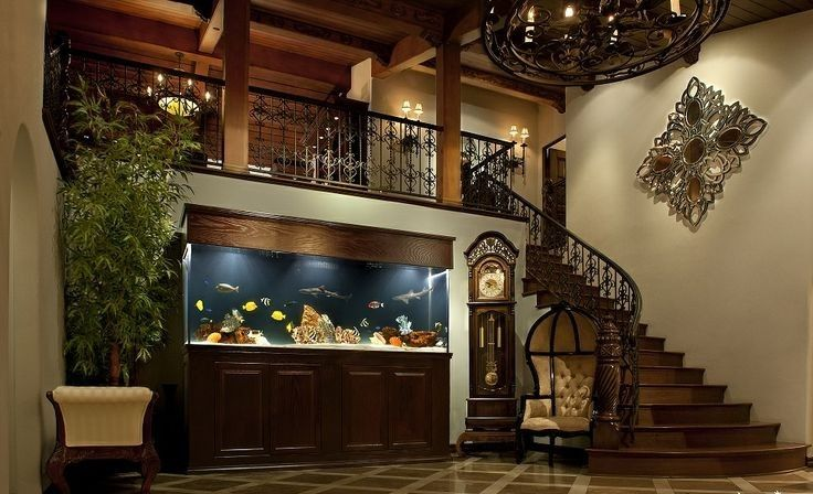 8 endroits propices où placer l' aquarium maison | aquariums