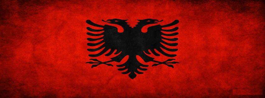 Albanian Flag Shqiperia Albania Flag Facebook Cover Albania Flag Albanian Flag Albania