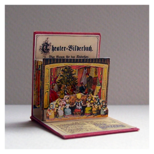 Miniature Theater Pop Up Book from Open House Miniatures.