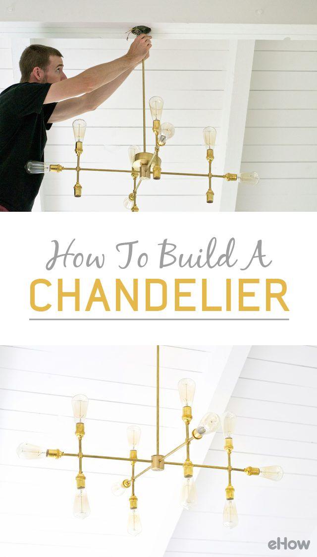 How to Build a Chandelier   eHow.com