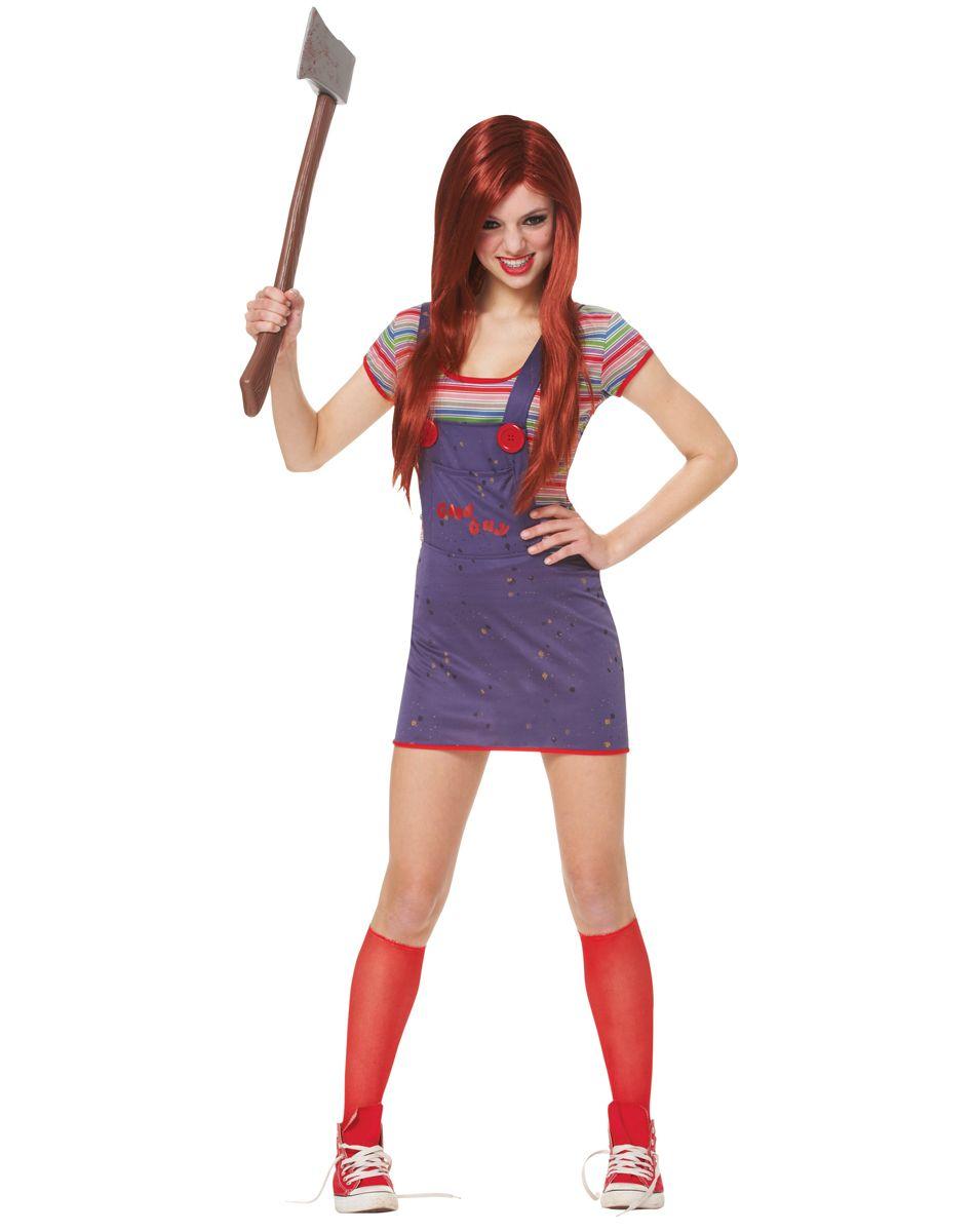 Sassy Chucky Teen Costume – Spirit Halloween Like if u want me to ...