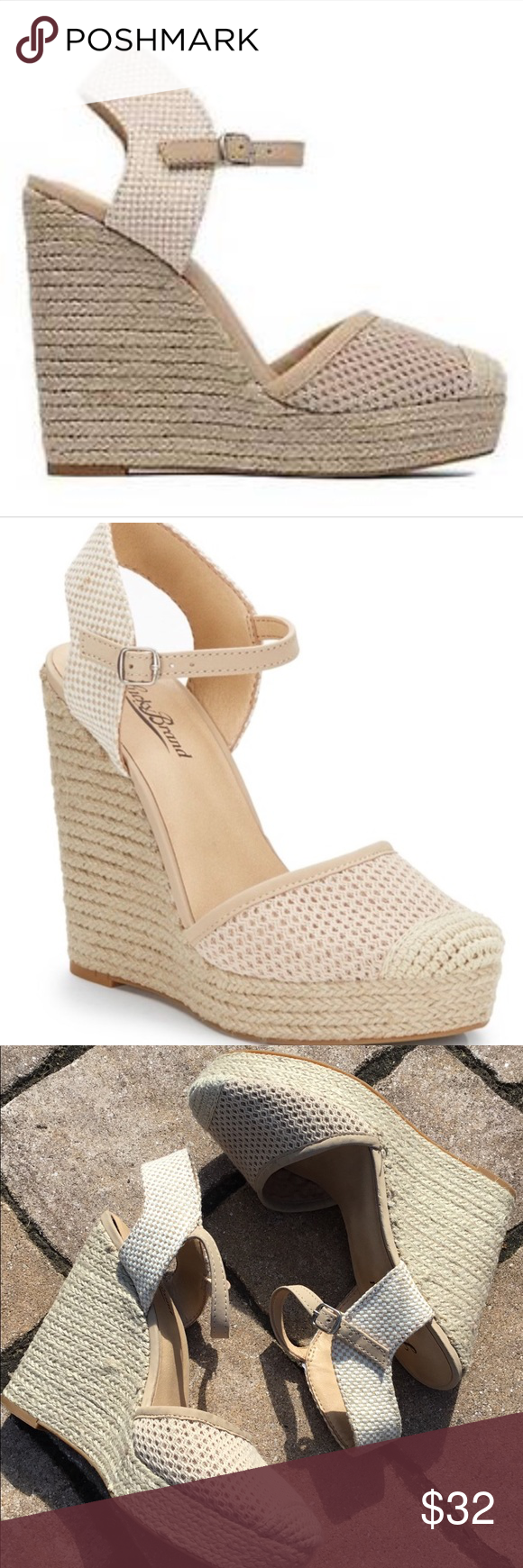 6c2e0e6a20d Lucky Brand Reandra Wedge Espadrille Sandals