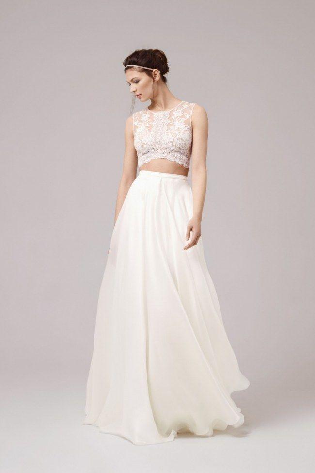 Das Brautkleid 2.0: So heiraten Fashionistas 2017! | Pinterest ...