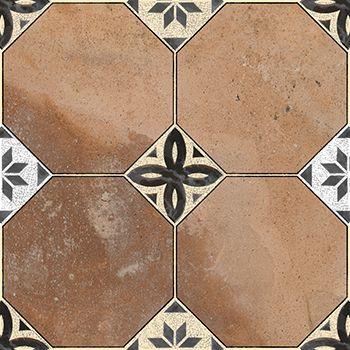 Cotto Siesta Decor / 30x30 cm / floor tile