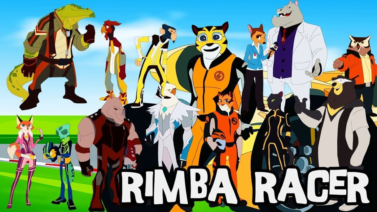 Rimba Racer Draw Rimba Racer Characters For Children Rimba Racer By Warna Cantiq Warnacantiq Malaysia Cartoon Movies
