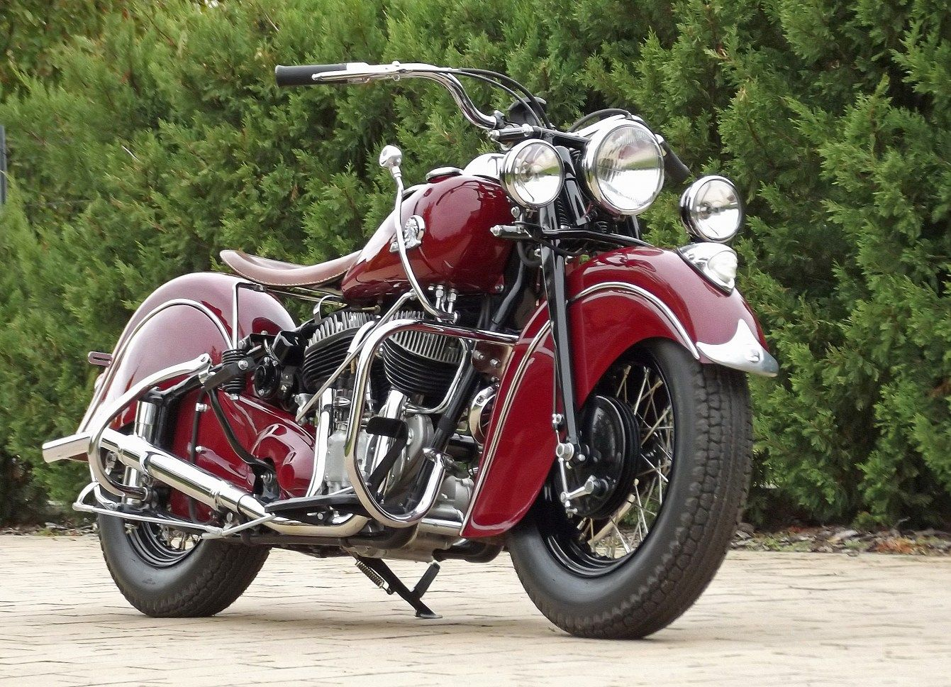 1950 1953 Indian Chief 80 Cu In 4 Speed Transmission 10 000 Max Indian Motorcycle Indian Motorbike Indian Motorcycle Vintage