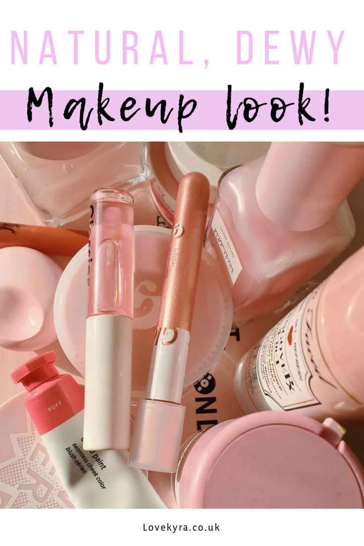 Dewy, natural makeup routine perfect for summer Makeup