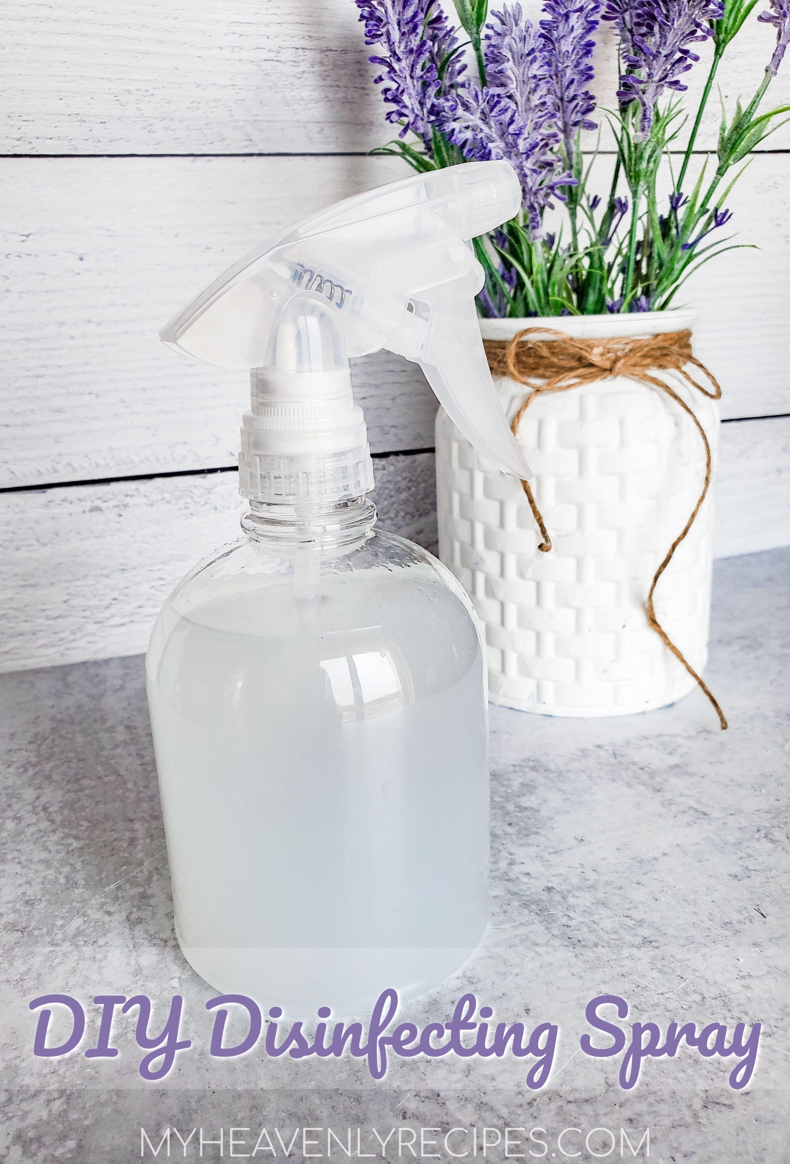 Diy disinfecting spray to make at home homemade
