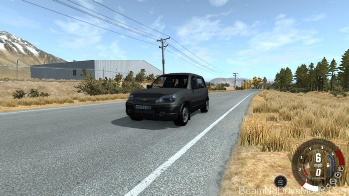 Beamng Chevrolet Niva Dar Grey Beamng Drive Mods Download
