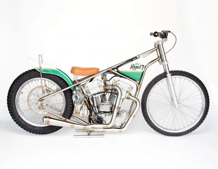 The Only One In The World 1967 Meirson Sprint Motor MSM VTwin Speedway Bike