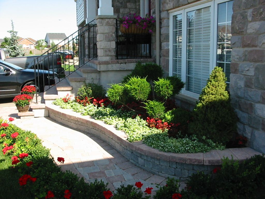 landscape design ideas for small front yards - Front Lawn Design Ideas