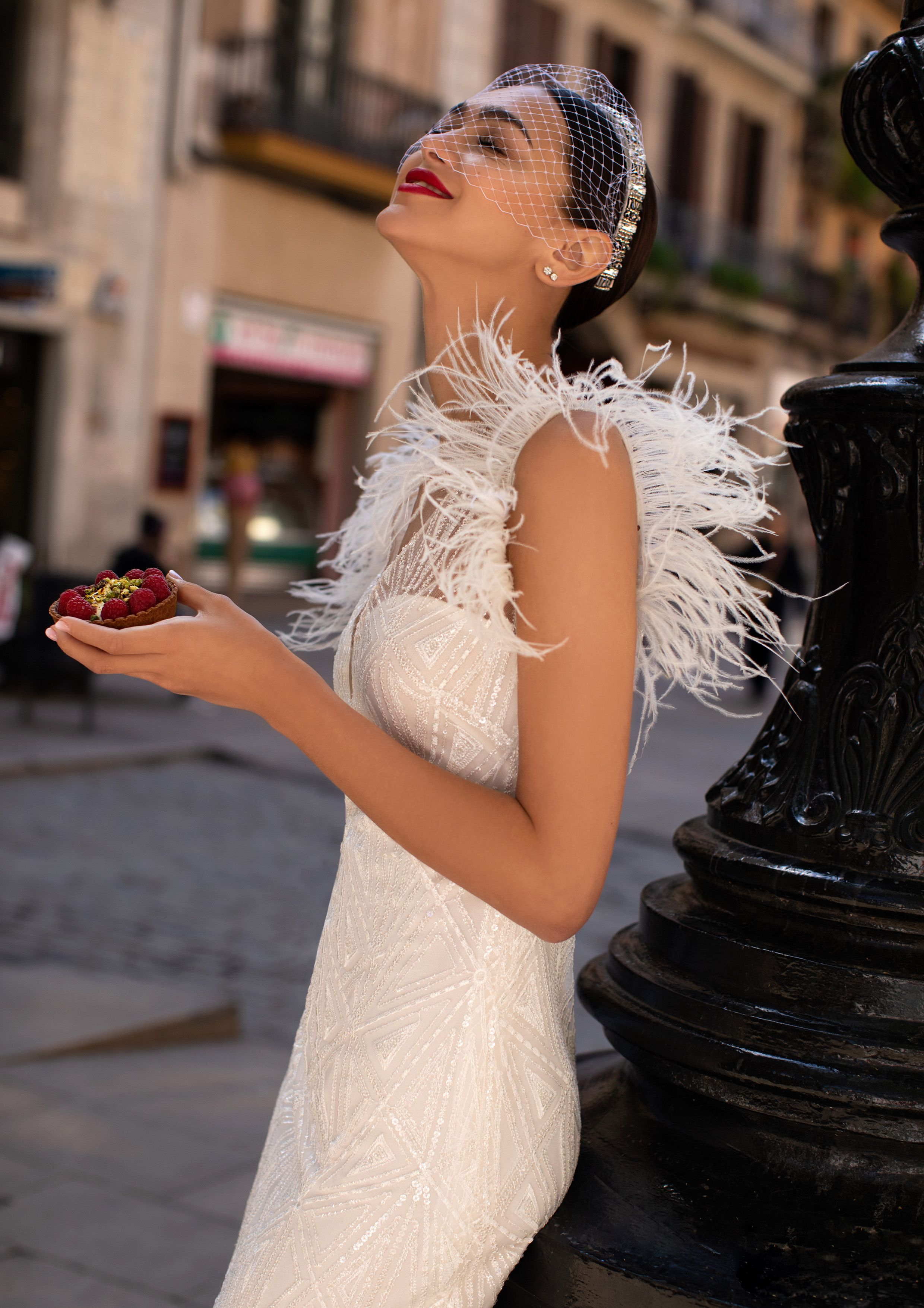 Lwd 05 Short Wedding Dress Platya Naryady Svadba [ 3508 x 2480 Pixel ]
