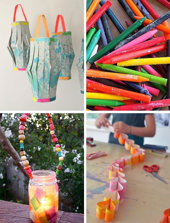 Ordinary Best Craft Ideas For Kids Part - 3: 58 Summer Art Camp Ideas