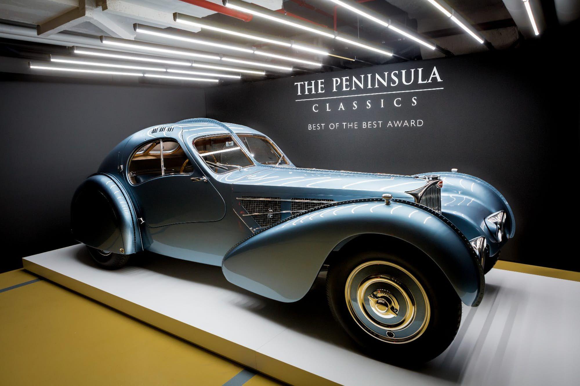 The Exquisite 1936 Bugatti Type 57 Sc Coupe Atlantic Owned By Walmart Chairman Rob Walton And Bugatti Type 57 Bugatti Art Deco Car