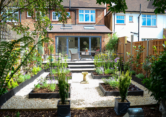 Garden Transformations A Stylish Low Maintenance Back Garden