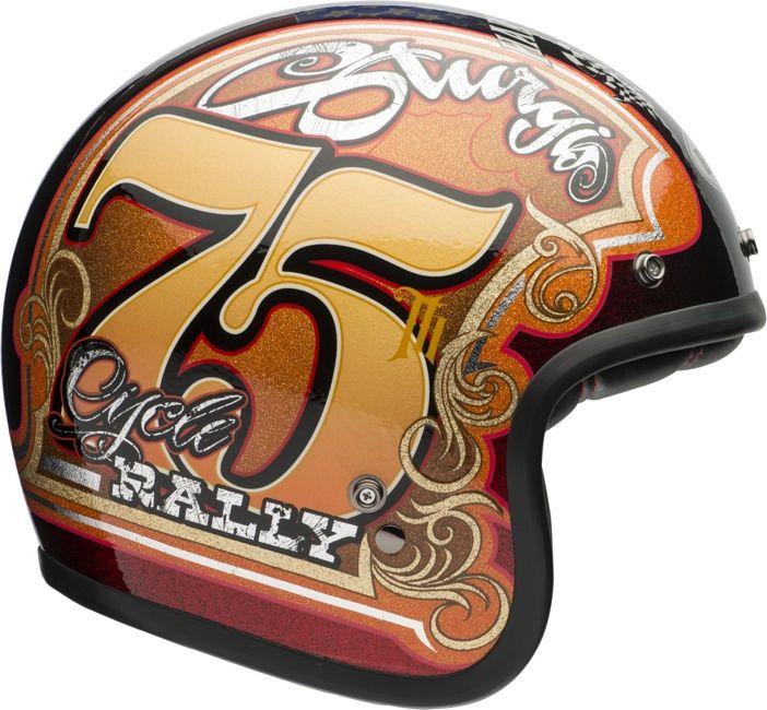 Sturgis 75th Right Profile Jpg 702 650 Vintage Helmet Motorcycle Helmet Design Motorcycle Helmets Vintage