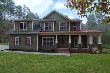 Houses With Red Metal Roof 42 852 Red Metal Roof Home Design