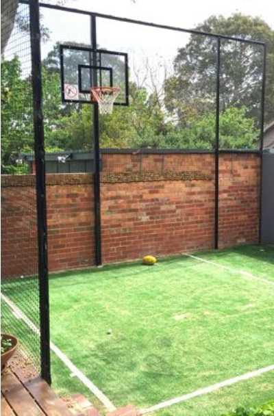 27 Outdoor Home Basketball Court Ideas | Sebring Design ...
