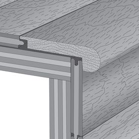 Best Mullican Flooring 3 In X 78 In Gunstock Oak Stair Nose 400 x 300