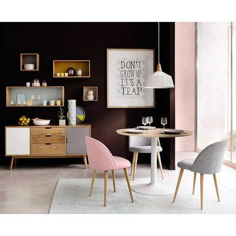 Aparador vintage con 2 puertas y 3 cajones | Living rooms, Hall ...