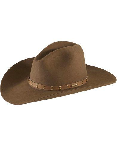 b791f19a6 Stetson 4X Seminole Gus Buffalo Felt Cowboy Hat | Cool hats | Felt ...