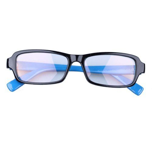 264304675a0 Computer Glasses Anti Glare Anti-reflective Coating Blue Frame by EEye  protection.  12.01. Enhanced polycarbonate double sided anti reflective  coatin. ...