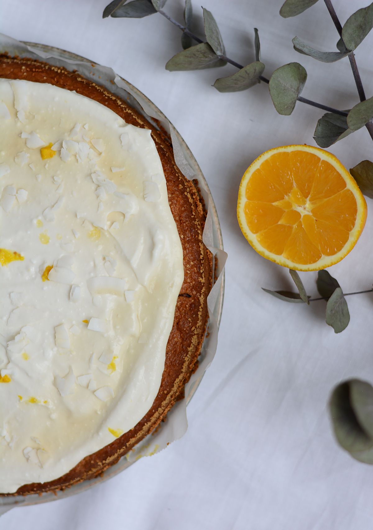 Rezept Orangen Kokos Kuchen Mit Kokos Frosting Vegan Cakes