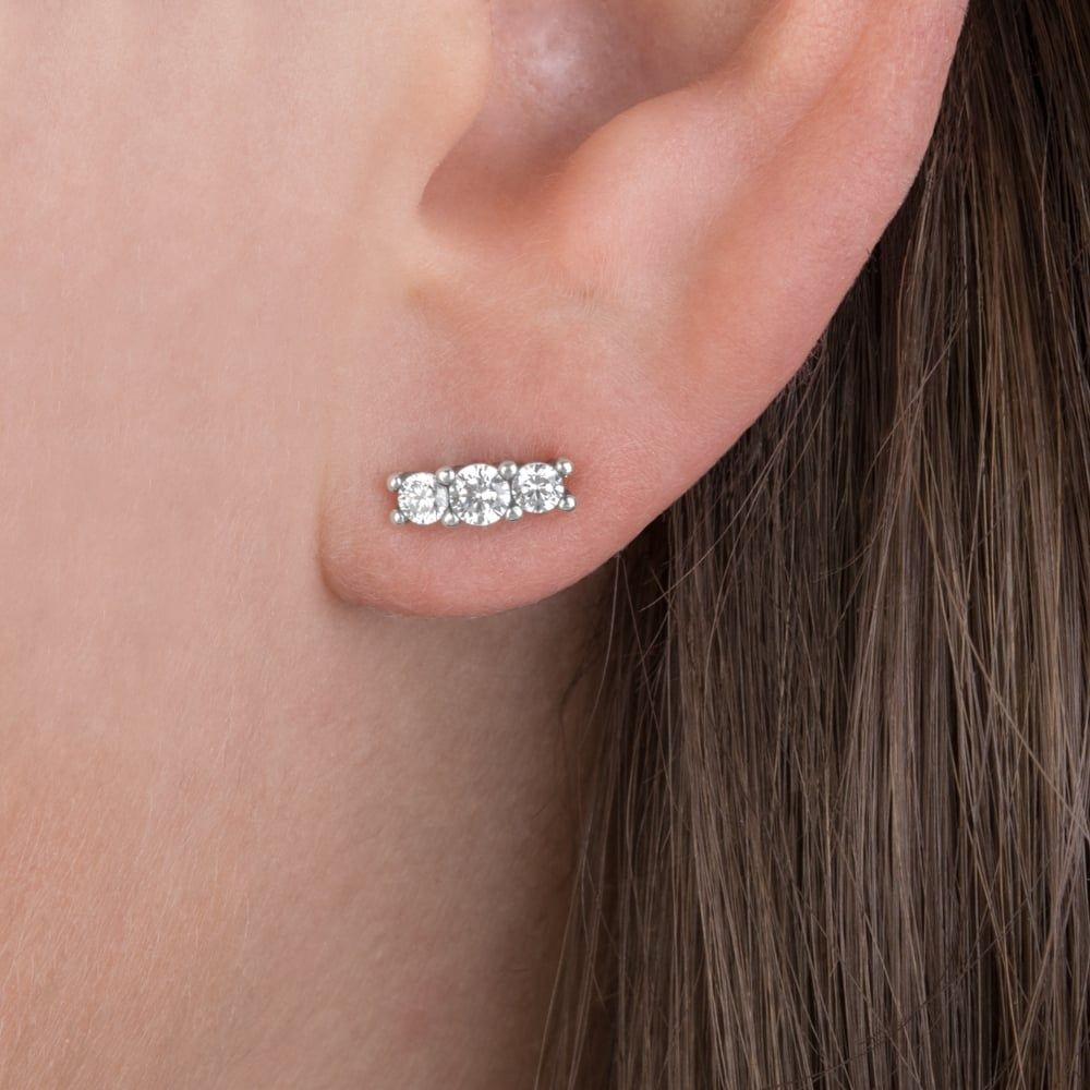 f8ad69ac5 Sparkling Elegance Stud Earrings | Jewelry | Earrings, Stud earrings ...