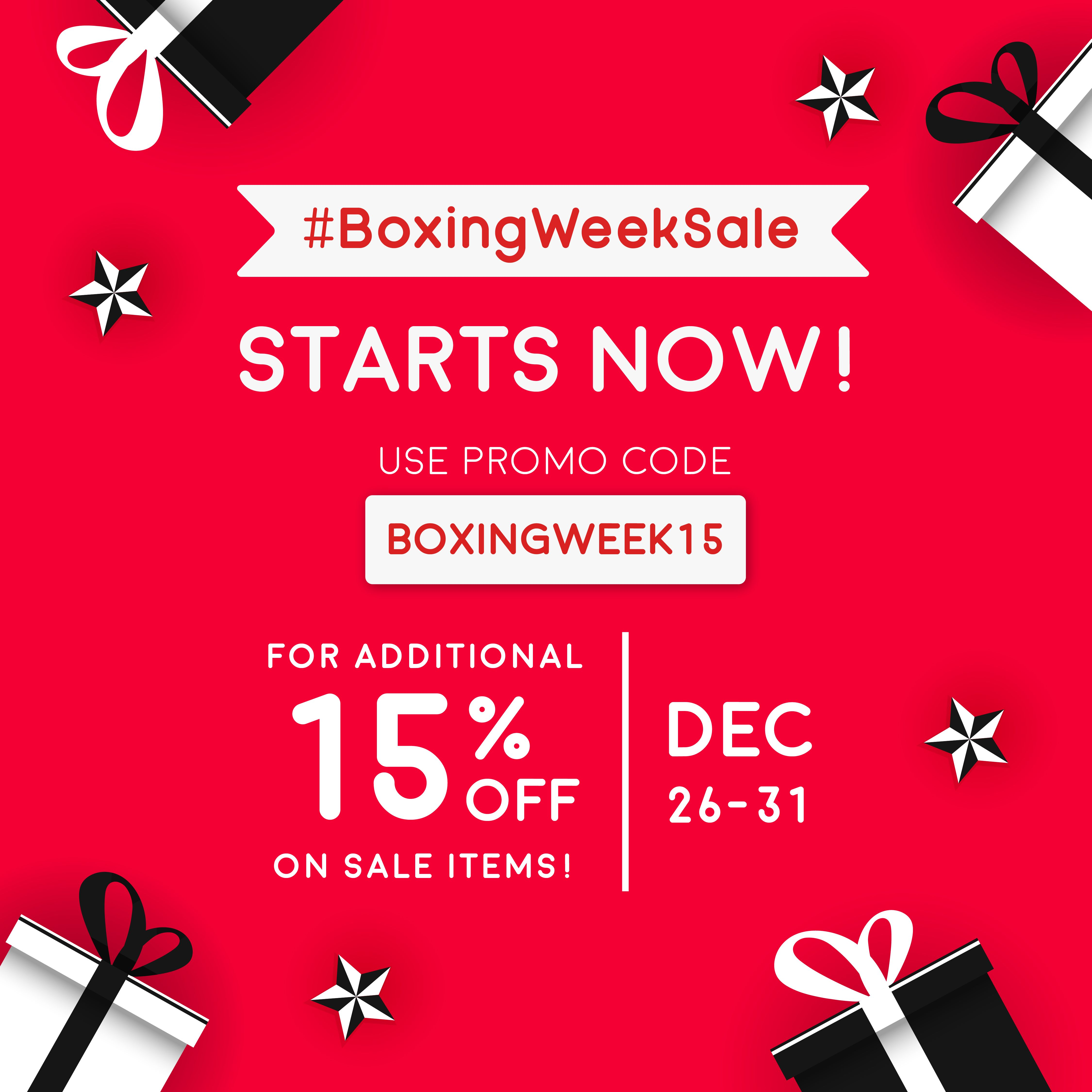 **Boxing Week Super Sale** This BoxingDay, unbox huge