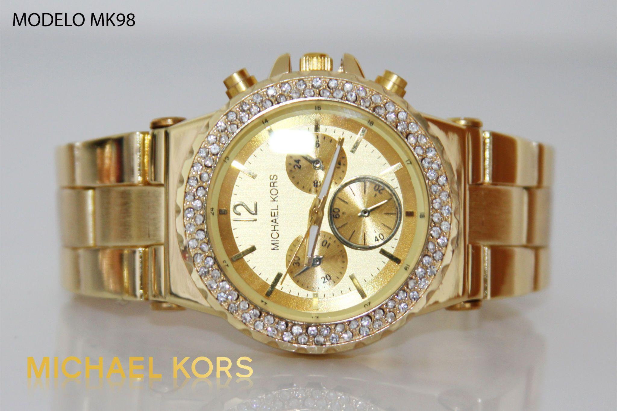 Reloj Michael kors dama dorado  b1e8be82e560