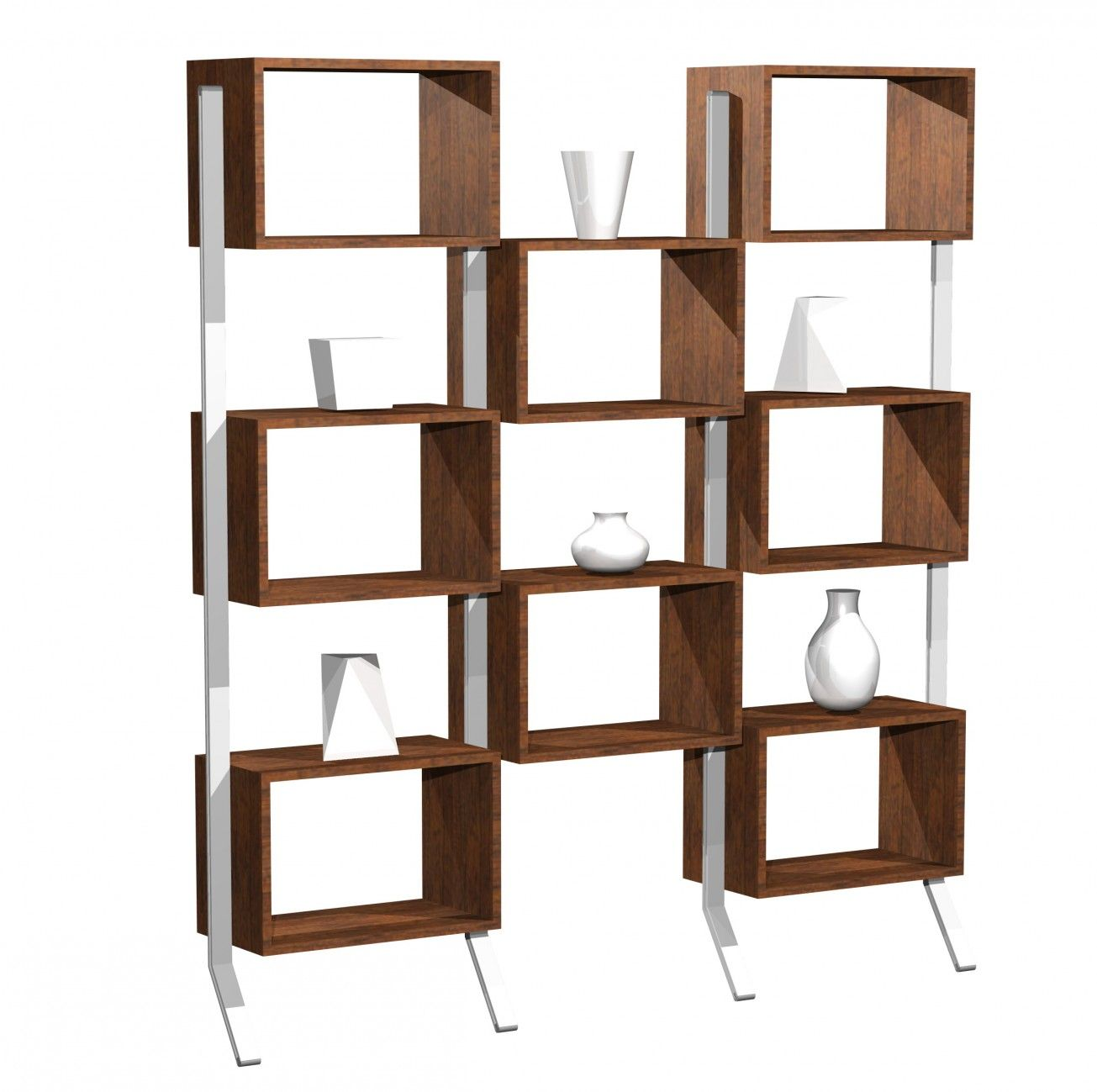 Exceptional Accessories U0026 Furniture,Stunning Freestanding Modular Shelving Units With  Brown Wooden Cube Shelf And White Metal Shelf Holder,Best Collection Modular  ... Design