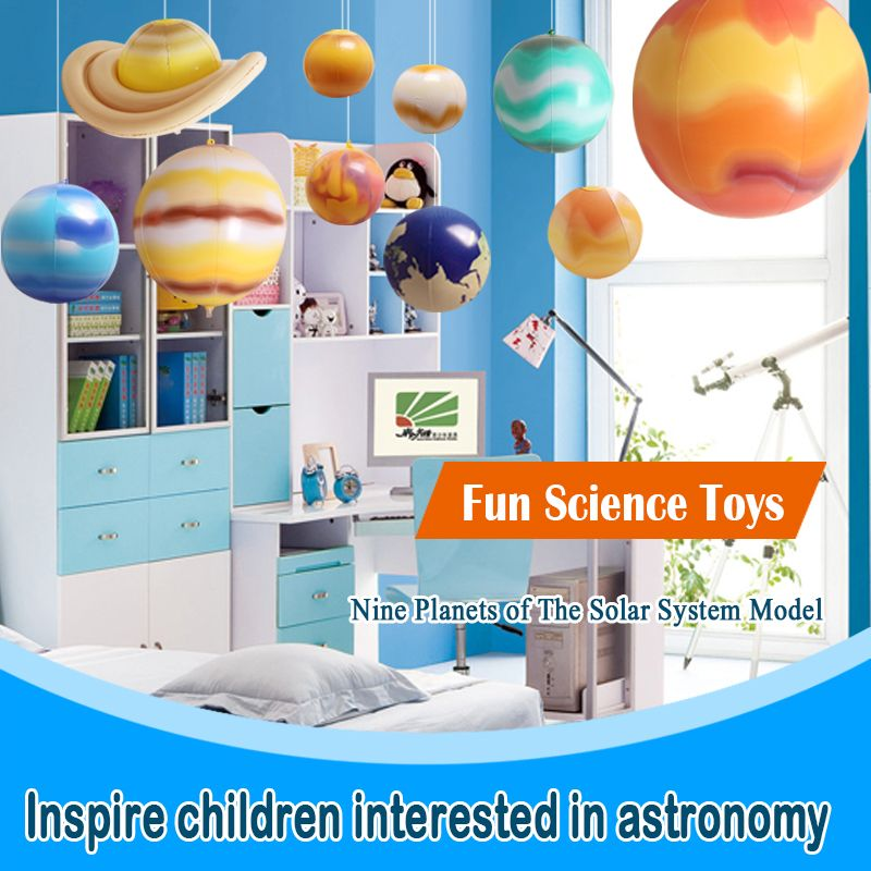 Inflatable Planets In Solar System