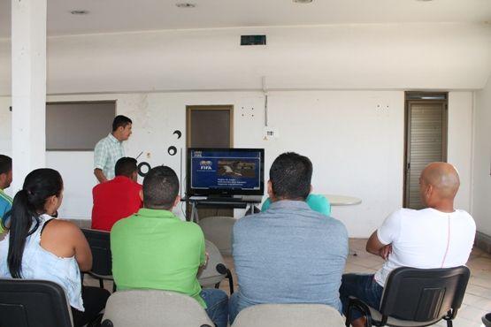Las Escuelas del Deportivo Pereira participaron de una charla académica