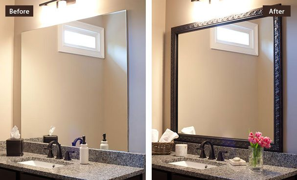 Awesome Bathroom Mirror Frames 46 For Your Interior Decor Home