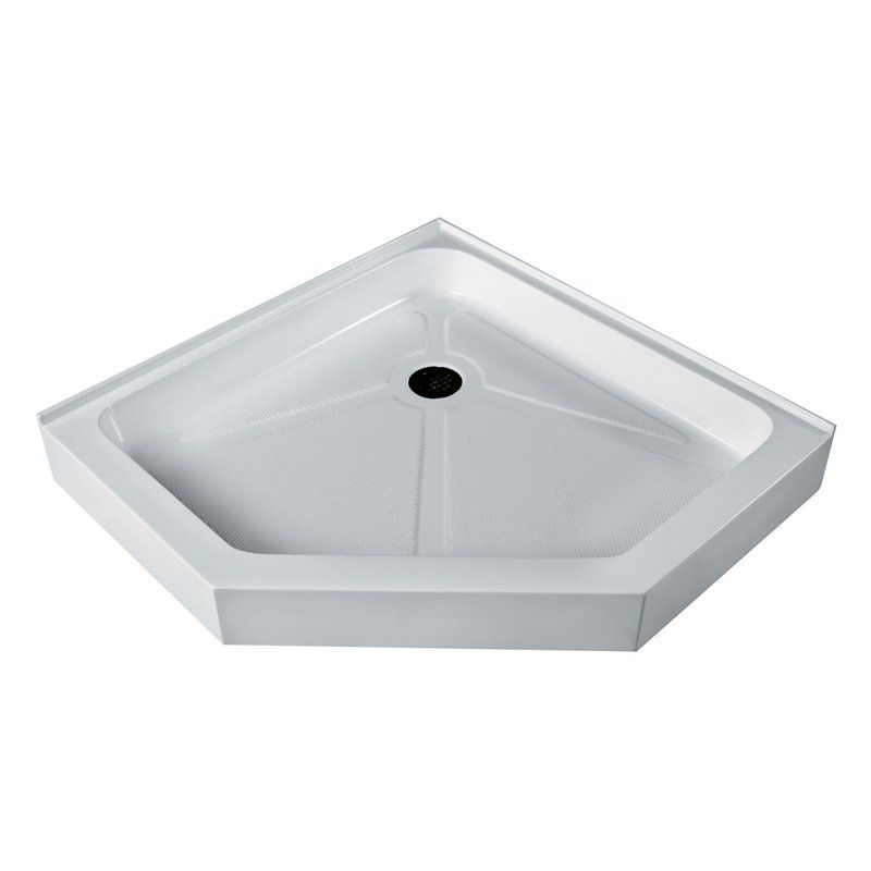 Vigo Vg06069wht47 47 625w X 47 625d In Neo Angle Shower Pan