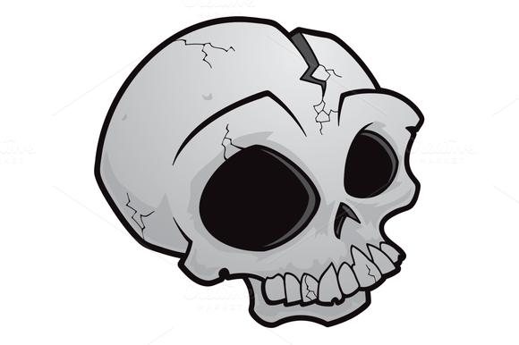 Cartoon Skull @creativework247   Skull illustration, Skull ...