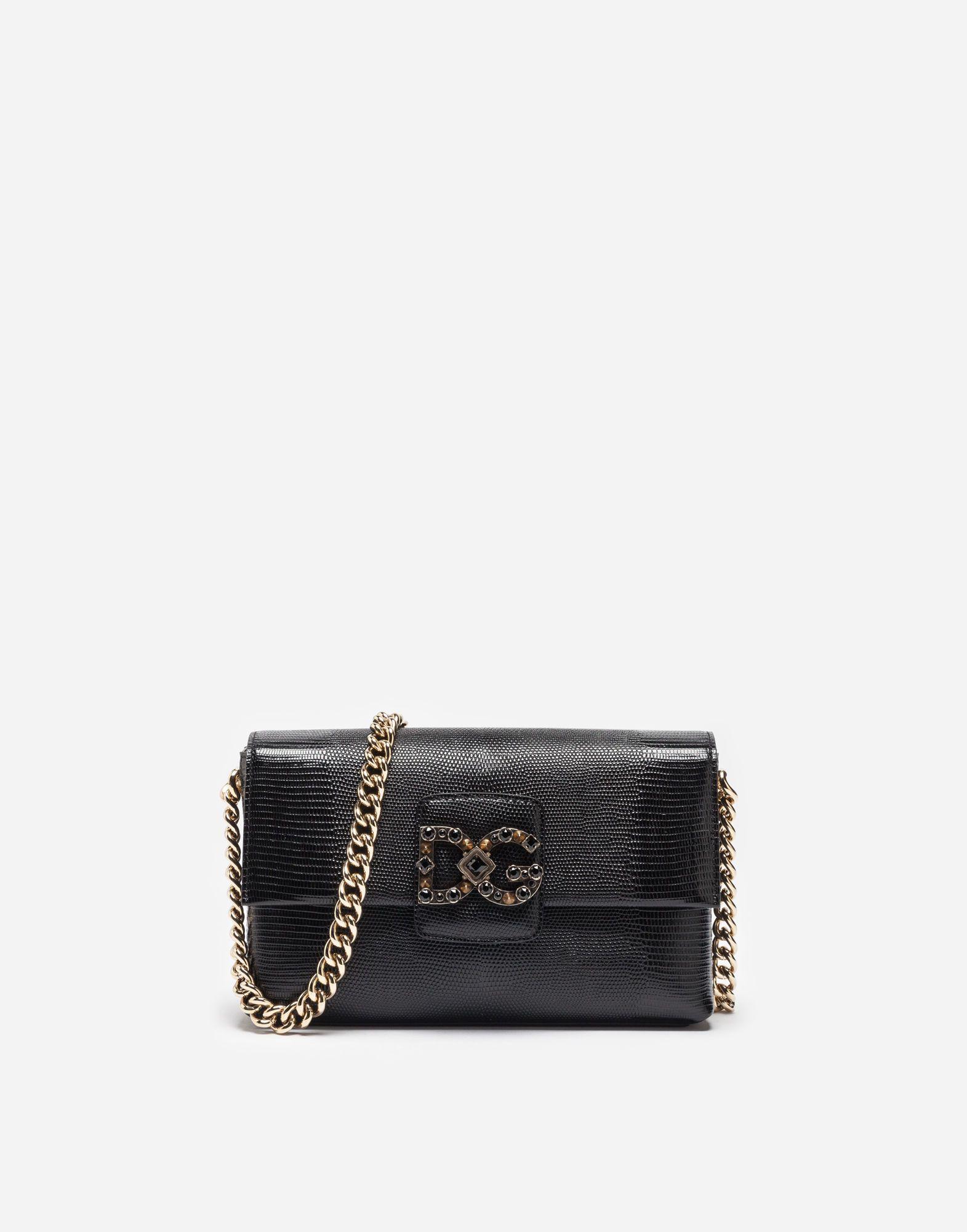 DOLCE   GABBANA Dg Millennials Bag In Leather.  dolcegabbana  bags   shoulder bags  leather  cotton  crystal   b93c1949ba