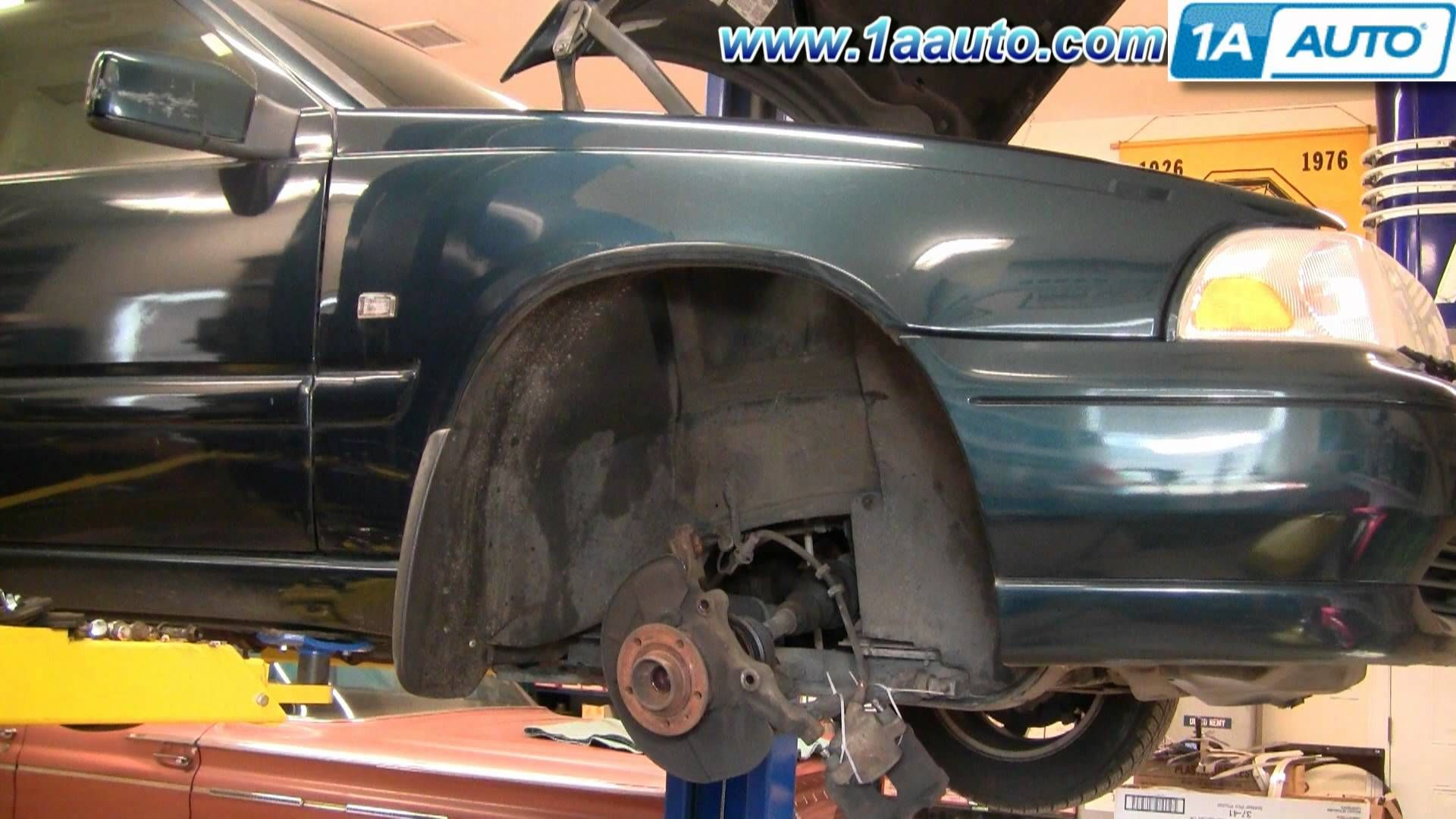 How To Install Replace Front Strut Volvo C70 S70 V70 9800