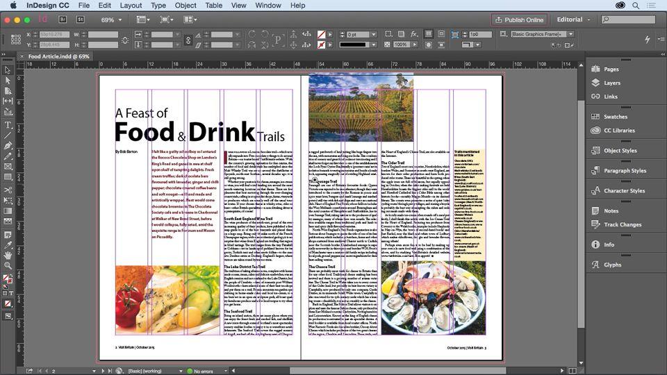 InDesign for Editors Indesign, Adobe indesign