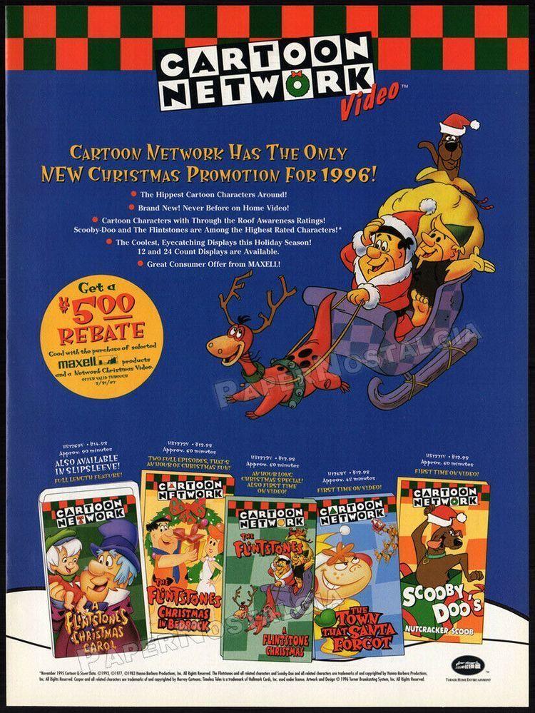 Cartoon Network Christmas Promo 2020 Cartoon Network Video Promo Ad (1996) #TheFlintstones #ScoobyDoo