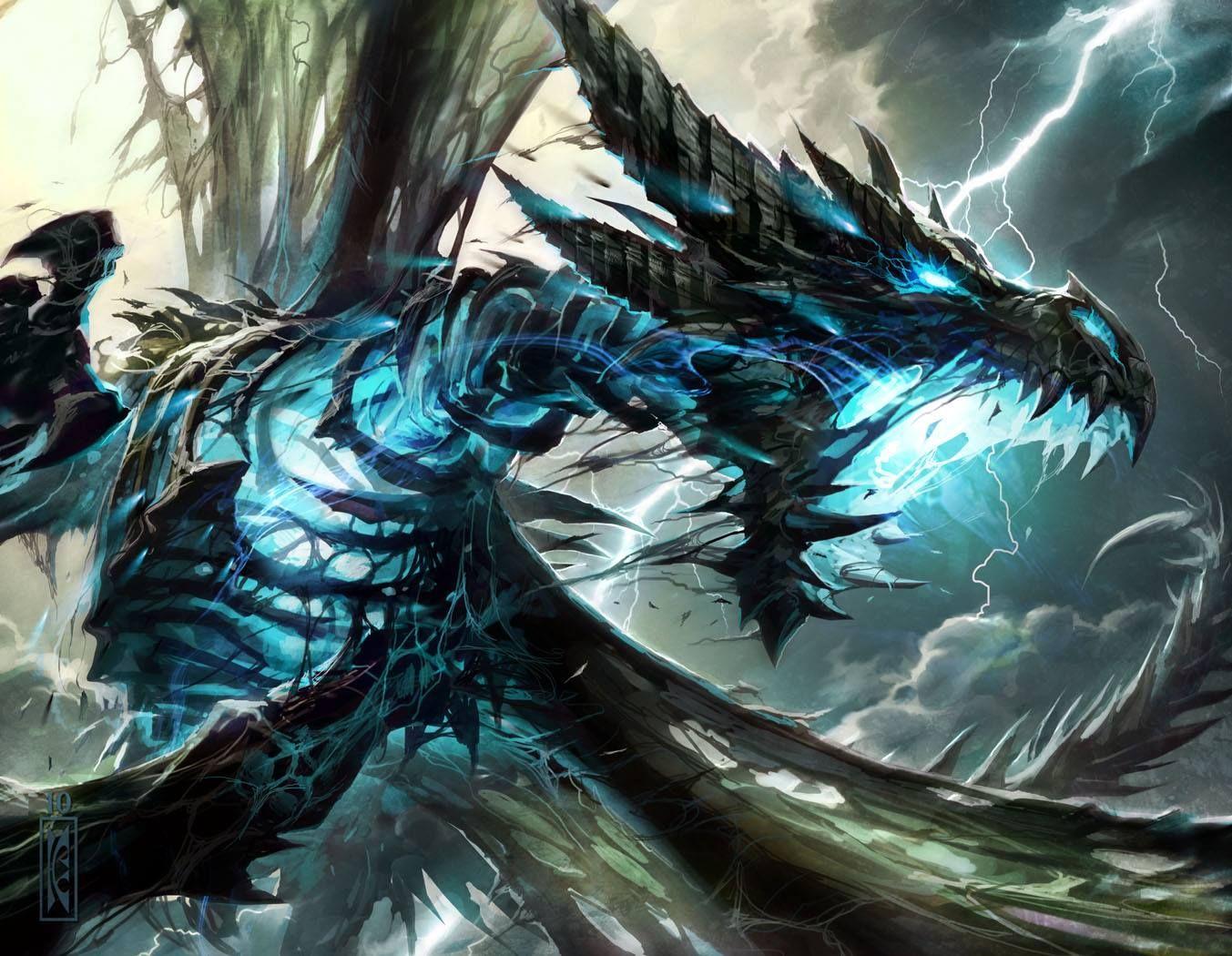 Dragon Fan Art Wallpaper