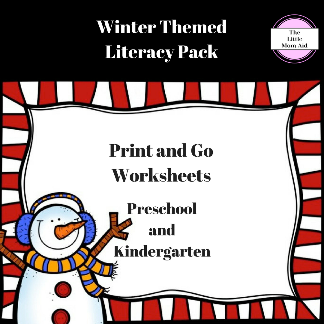 Winter Literacy Activities And Worksheets