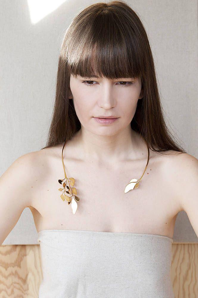 náhrdelník 1 Vavřín (zlacený)